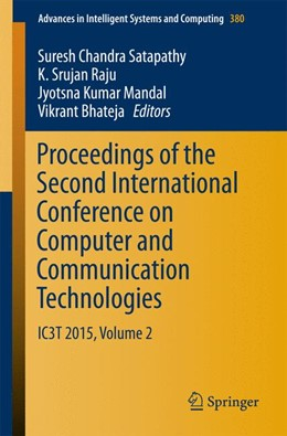 Abbildung von Satapathy / Raju / Mandal / Bhateja | Proceedings of the Second International Conference on Computer and Communication Technologies | 1st ed. 2016 | 2015 | IC3T 2015, Volume 2 | 380