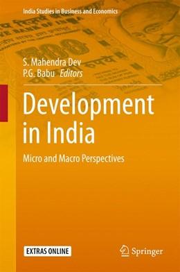Abbildung von Dev / Babu | Development in India | 1. Auflage | 2015 | beck-shop.de