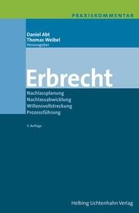 Abbildung von Abt / Weibel | Erbrecht | 3. Auflage | 2015