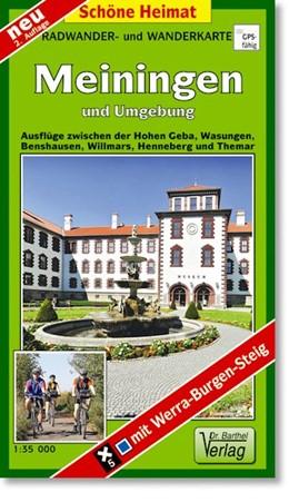 Abbildung von Wander- und Radwanderkarte Meiningen und Umgebung 1 : 35 000 | 2. Auflage | 2014 | Ausflüge zwischen der Hohen Ge...