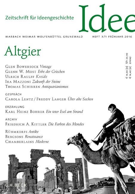 Zeitschrift für Ideengeschichte • Probeheft (Cover)