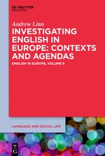 Investigating English in Europe | Linn, 2016 | Buch (Cover)