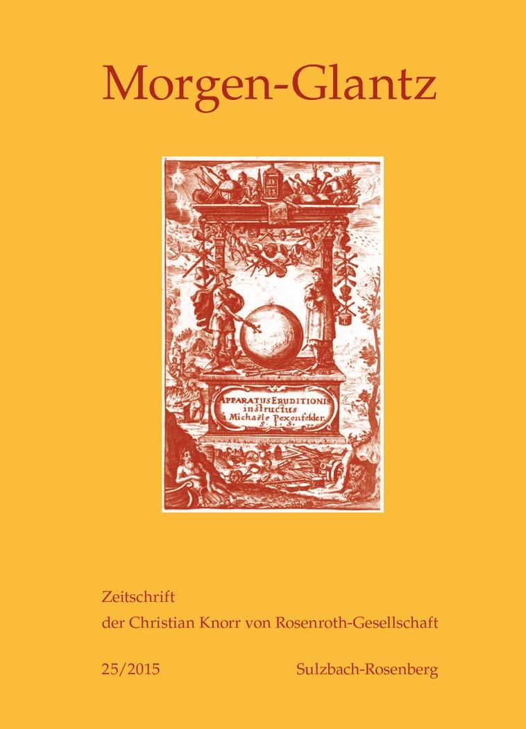 Morgen-Glantz 25/2015, 2015 | Buch (Cover)