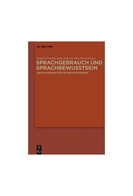 Abbildung von Schmidlin / Behrens / Bickel | Sprachgebrauch und Sprachbewusstsein | 2015 | Implikationen für die Sprachth...