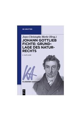 Abbildung von Merle | Johann Gottlieb Fichte: Grundlage des Naturrechts | 2016 | 24