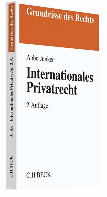 Internationales Privatrecht | Junker | Buch (Cover)