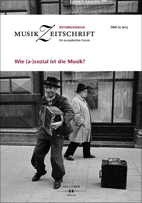 Wie (a-)sozial ist die Musik?, 2015 | Buch (Cover)