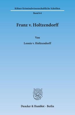 Abbildung von Holtzendorff | Franz v. Holtzendorff | 2015 | 64