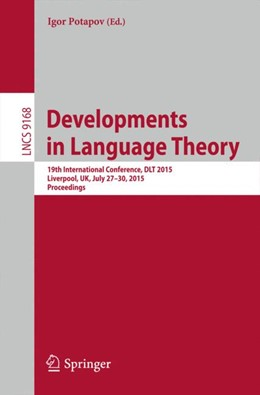 Abbildung von Potapov | Developments in Language Theory | 2015 | 2015 | 19th International Conference,...