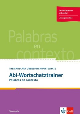 Abbildung von Palabras en contexto. Abi-Wortschatztrainer | 1. Auflage | 2015 | beck-shop.de