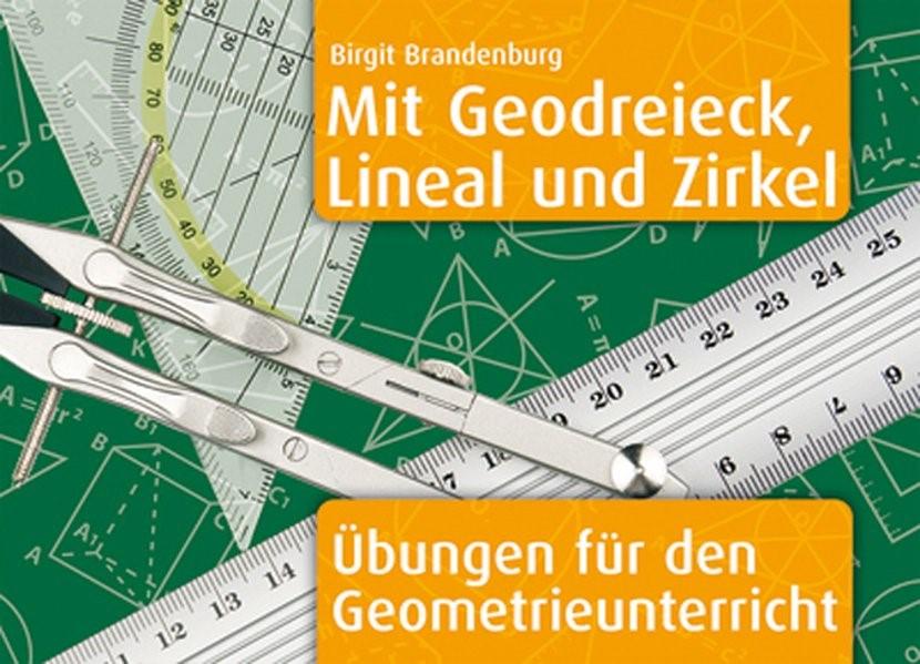 Mit Geodreieck, Lineal und Zirkel | Brandenburg, 2001 | Buch (Cover)