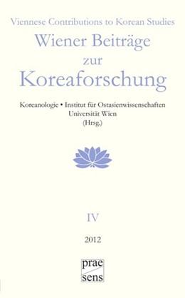Abbildung von Wiener Beiträge zur Koreaforschung | 2013
