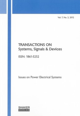 Abbildung von Krichen | Transactions on Systems, Signals and Devices Vol. 7, No. 2 | 2013 | Issues on Power Electrical Sys...