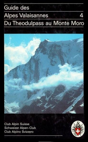 Guide des Alpes Valaisannes 4   Brandt   4. Auflage, 1992   Buch (Cover)