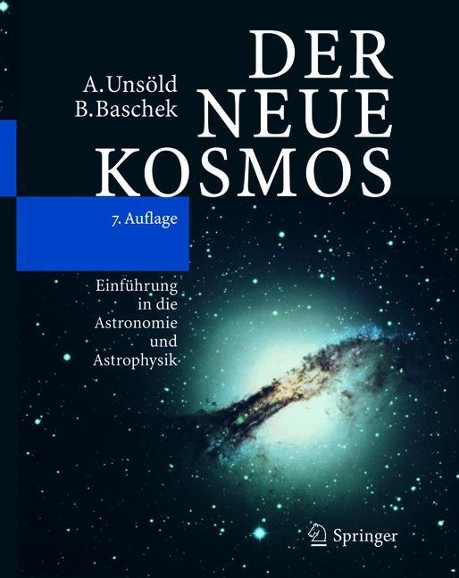 Abbildung von Unsöld / Baschek | Der neue Kosmos | korr. Nachdruck | 2004