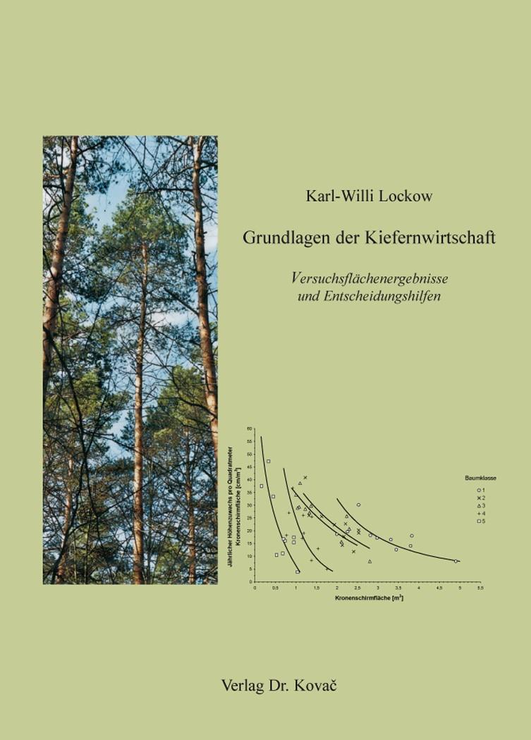 Grundlagen der Kiefernwirtschaft | Lockow, 2015 | Buch (Cover)