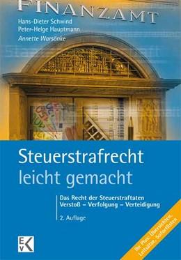 Abbildung von Warsönke   Steuerstrafrecht - leicht gemacht   2. Auflage   2015   beck-shop.de