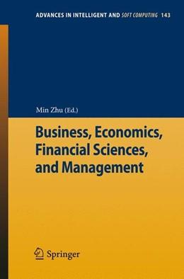 Abbildung von Zhu | Business, Economics, Financial Sciences, and Management | 1. Auflage | 2012 | beck-shop.de