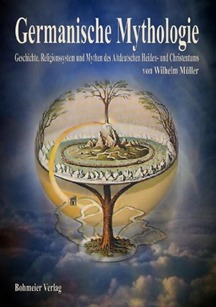 Germanische Mythologie   Müller, 2008   Buch (Cover)