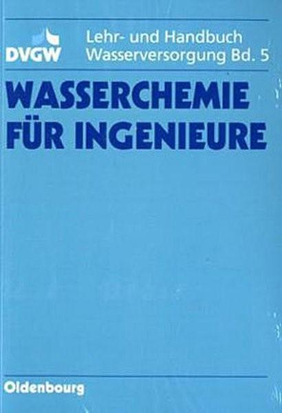 Wasserchemie für Ingenieure | Abbt-Braun / Baldauf / Brauch, 1993 | Buch (Cover)