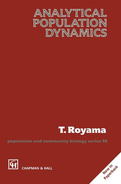 Abbildung von Royama | Analytical Population Dynamics | 1992