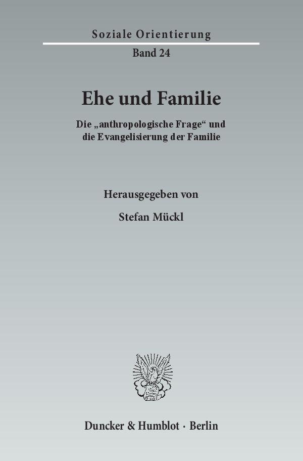 Ehe und Familie   Mückl, 2015   Buch (Cover)