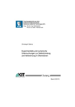 Abbildung von Dahnz | Experimentelle und numerische Untersuchungen zur Selbstzündung und Verbrennung in Ottomotoren | 1. Auflage | 2015 | 2/2015 | beck-shop.de
