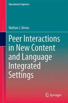 Abbildung von Devos | Peer Interactions in New Content and Language Integrated Settings | 1st ed. 2016 | 2015 | 24