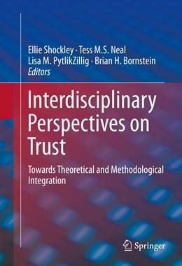 Abbildung von Shockley / Neal   Interdisciplinary Perspectives on Trust   1. Auflage   2015   beck-shop.de