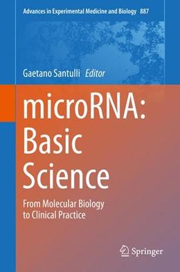 Abbildung von Santulli   microRNA: Basic Science   1st ed. 2015   2015   From Molecular Biology to Clin...   887