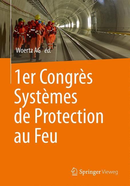 1er Congrès Systèmes de Protection au Feu | 1ère éd. 2015, 2015 | Buch (Cover)