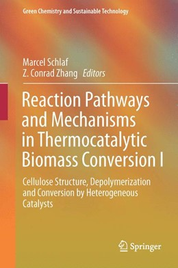 Abbildung von Schlaf / Zhang | Reaction Pathways and Mechanisms in Thermocatalytic Biomass Conversion I | 1st ed. 2016 | 2015 | Cellulose Structure, Depolymer...