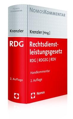 Rechtsdienstleistungsgesetz | Krenzler (Hrsg.) | 2. Auflage, 2017 | Buch (Cover)