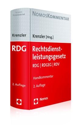 Abbildung von Krenzler (Hrsg.) | Rechtsdienstleistungsgesetz | 2. Auflage | 2017 | beck-shop.de