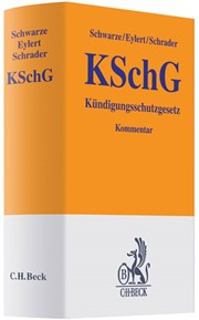 Kündigungsschutzgesetz Kschg Schwarze Eylert Schrader 2011