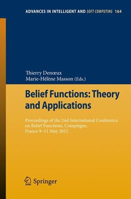 Abbildung von Denoeux / Masson | Belief Functions: Theory and Applications | 2012 | 2012 | Proceedings of the 2nd Interna...
