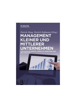 Abbildung von Haag / Roßmann | Management kleiner und mittlerer Unternehmen | 1. Auflage | 2015 | beck-shop.de