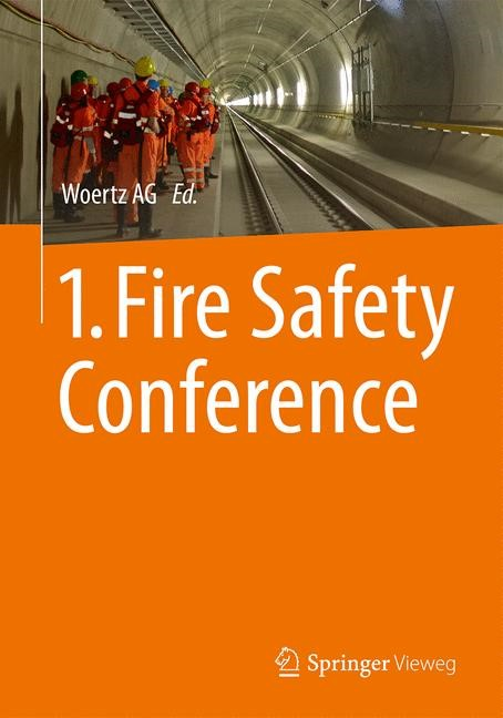 1. Fire Safety Conference | 1st ed. 2015, 2015 | Buch (Cover)