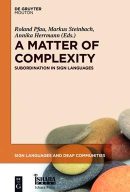 Abbildung von Herrmann / Pfau | A Matter of Complexity | 1. Auflage | 2016 | beck-shop.de