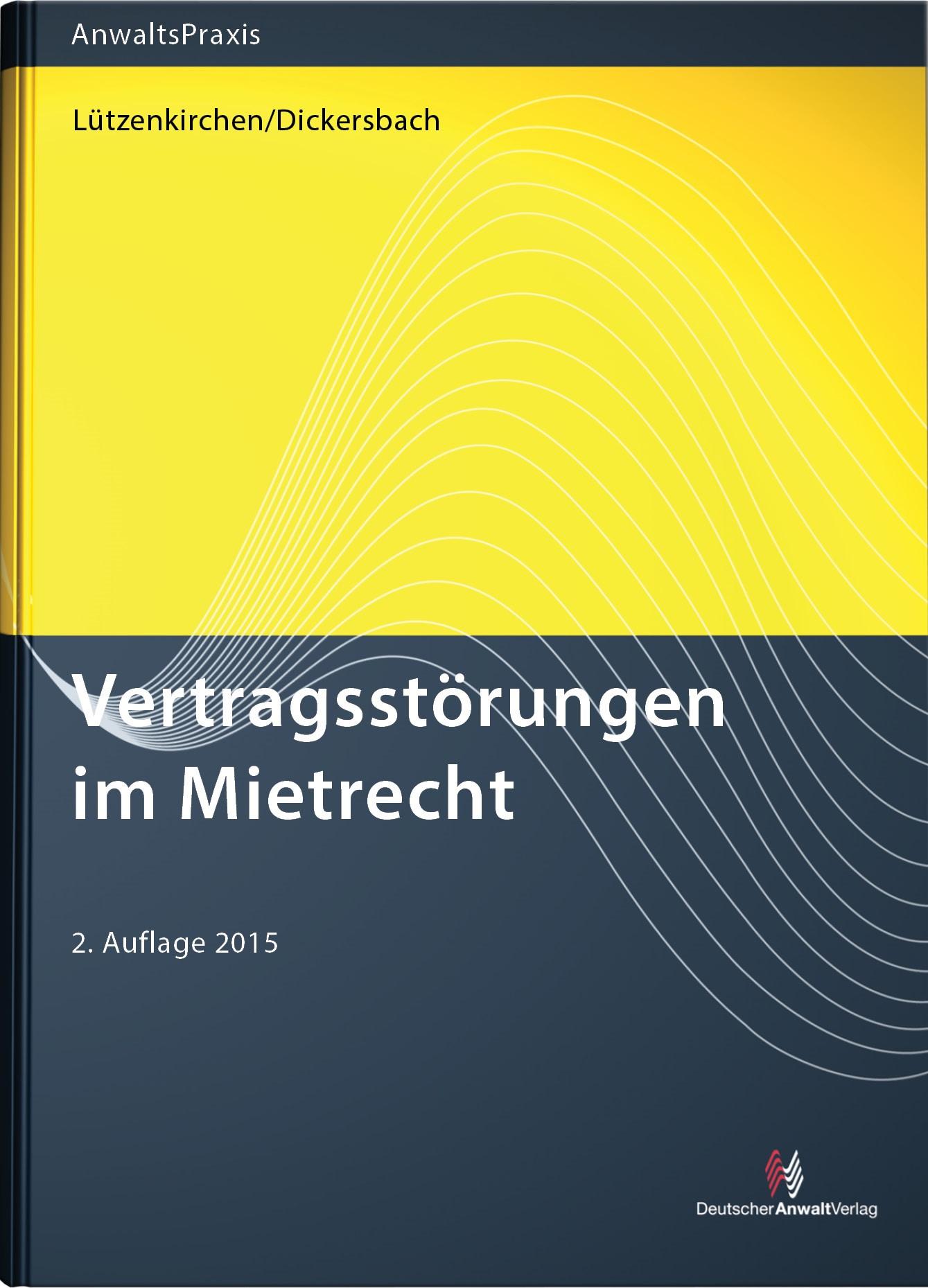 Vertragsstörungen im Mietrecht | Harz / Ormanschick | 2. Auflage, 2018 | Buch (Cover)