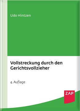 Abbildung von Hintzen | Vollstreckung durch den Gerichtsvollzieher | 4. Auflage | 2017