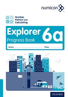 Abbildung von Wing / Campling / Osborne   Numicon: Number, Pattern and Calculating 6 Explorer Progress Book A (Pack of 30)   2016