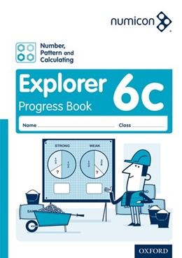 Abbildung von Wing / Campling / Osborne | Numicon: Number, Pattern and Calculating 6 Explorer Progress Book C (Pack of 30) | 2016