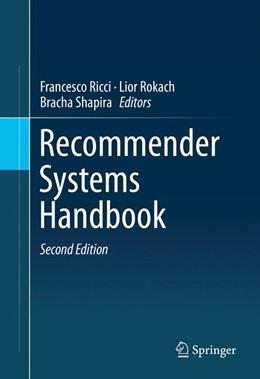 Abbildung von Ricci / Rokach / Shapira   Recommender Systems Handbook   2nd ed. 2015   2015