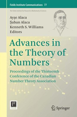 Abbildung von Alaca / Williams | Advances in the Theory of Numbers | 1st ed. 2015 | 2015 | Proceedings of the Thirteenth ... | 77