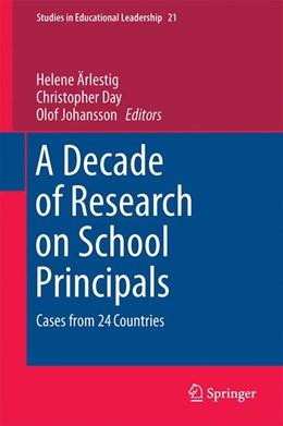 Abbildung von Ärlestig / Day | A Decade of Research on School Principals | 1. Auflage | 2015 | 21 | beck-shop.de