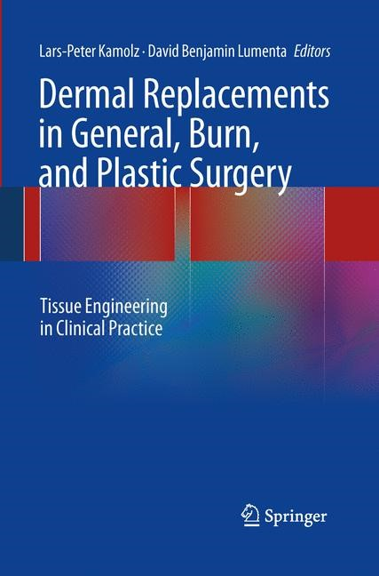Dermal Replacements in General, Burn, and Plastic Surgery | Kamolz / Lumenta | Softcover reprint of the original 1st ed. 2013, 2015 | Buch (Cover)