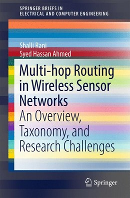 Abbildung von Rani / Ahmed | Multi-hop Routing in Wireless Sensor Networks | 1. Auflage | 2015 | beck-shop.de