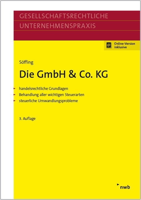 Die GmbH & Co. KG   Söffing   3., überarbeitete Auflage, 2016 (Cover)