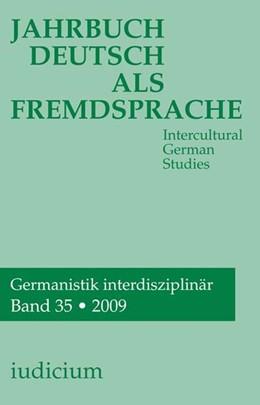 Abbildung von Bogner | Jahrbuch Deutsch als Fremsprache | 2010 | Intercultural German Studies